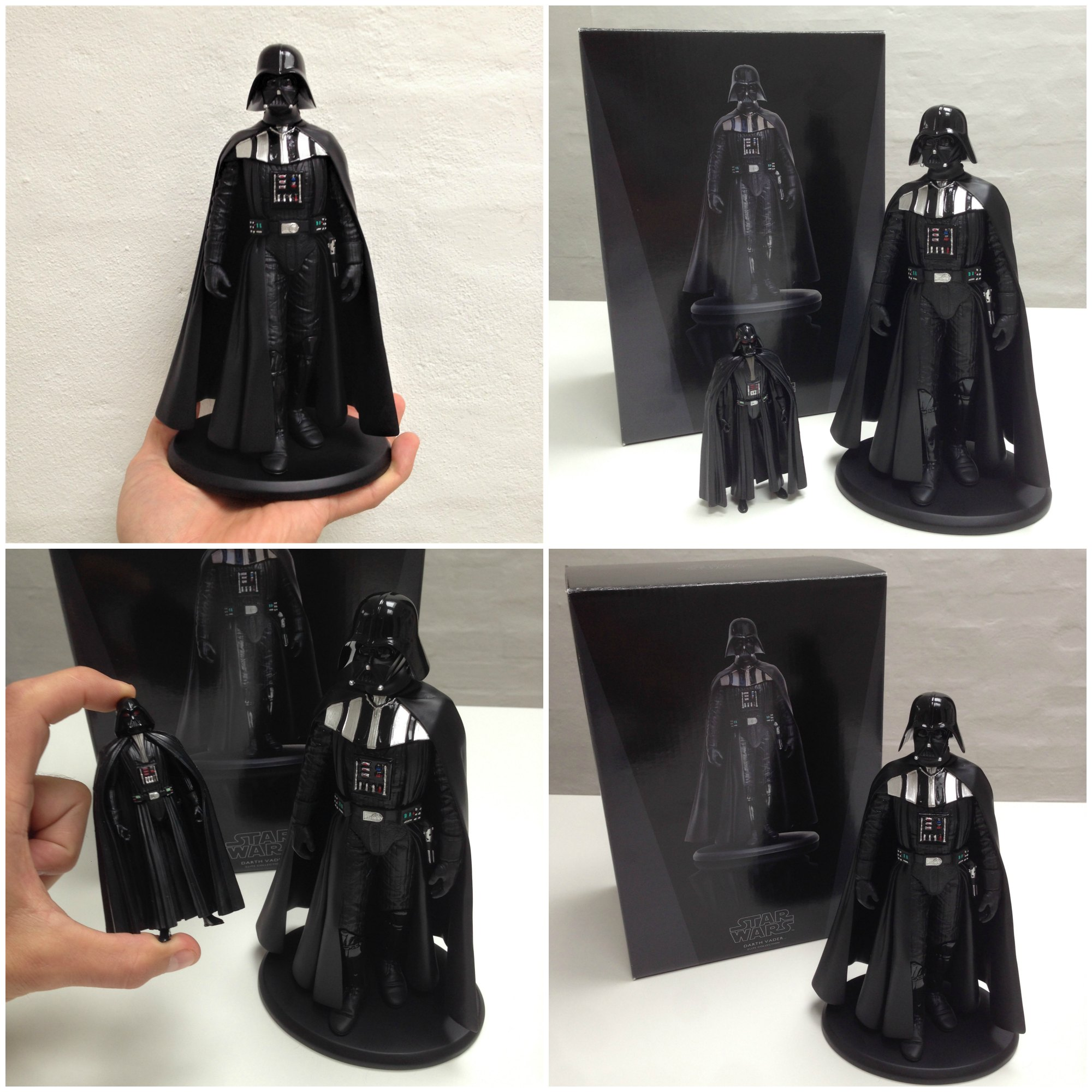 Darth Vader - Attakus Elite Colection - Star Wars - Wendros - Merchandise - Darth Vader-figur - Fiktion & Kultur (3)