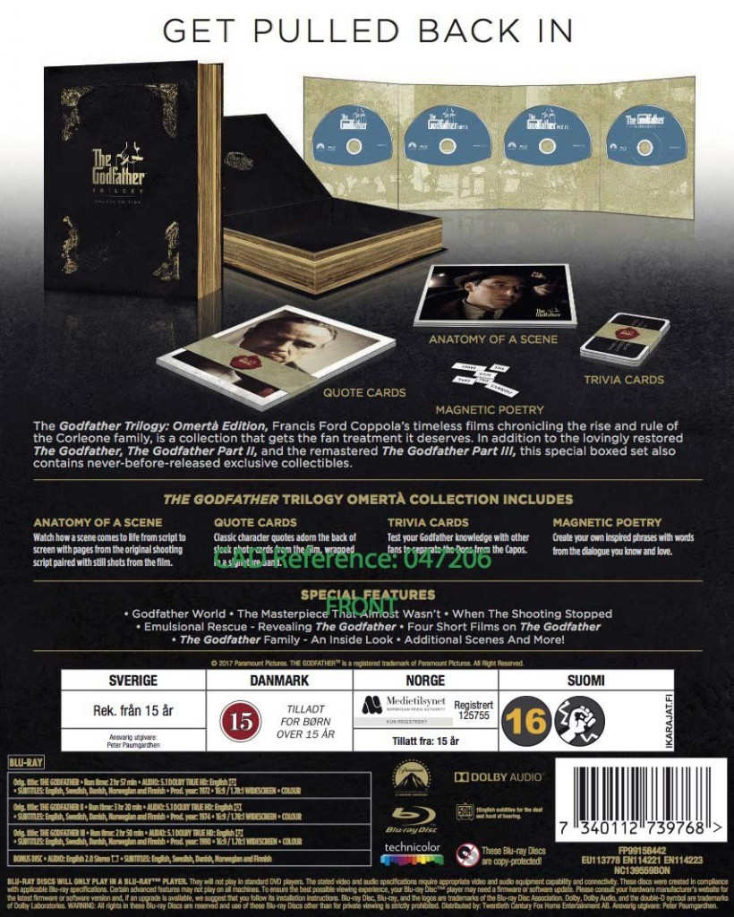 The Godfather Trilogy Omerta Edition (2)